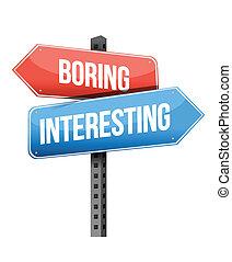 ∥対∥, 退屈すること, 興味を起こさせること, 道 印