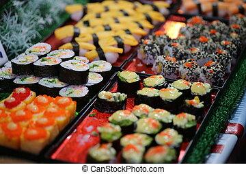 寿司, 日本, 食物