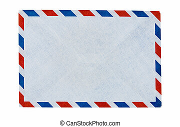 封筒, エアメール