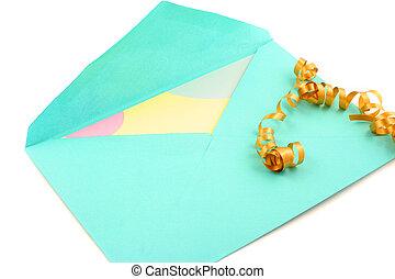 封筒, カード