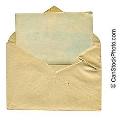 封筒, カード, ブランク