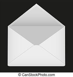 封筒, 空
