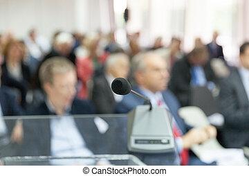 専門家, ∥あるいは∥, ビジネス, conference., 企業である, presentation.