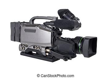 専門家, カメラ, ビデオ, 隔離された