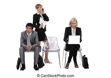 専門家, グループ, ビジネス