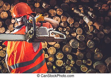 専門家, 労働者, 材木