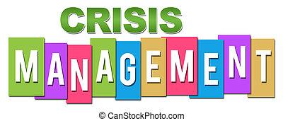 専門家, 管理, 危機, カラフルである