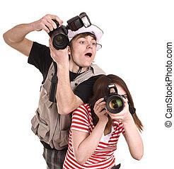 専門家, photographer.
