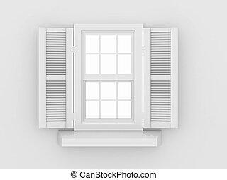 射手, 閉じられた, 窓
