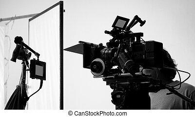 射撃, ∥あるいは∥, 撮影, ビデオ, 映画 生産