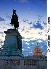 将官, 交付金, 像, そして, 合衆国州議事堂, ワシントン, dc.