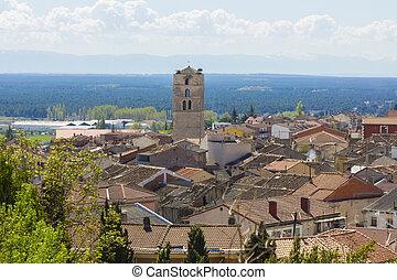 将官, 光景, の, ∥, 村, の, cuellar, スペイン