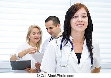 專屬, 門診部, 房間, 提出, a, 快照, ......的, the, 工作, ......的, 醫生