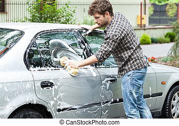 專業人員, 汽車, 清掃