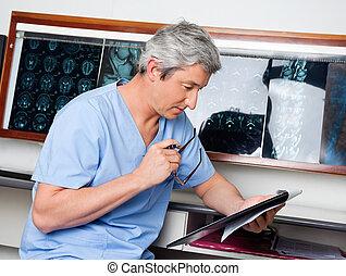 專業人員, 醫學, 閱讀, 文件