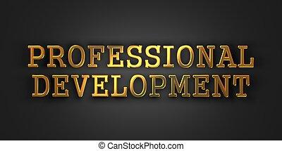 專業人員, development., 事務, concept.