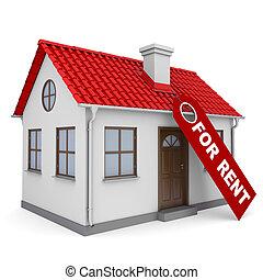 小さい家, 賃貸料, ラベル