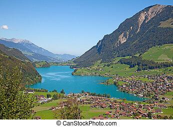 小さい湖, 高山