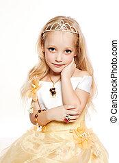 小さい王女, 女の子, 肖像画