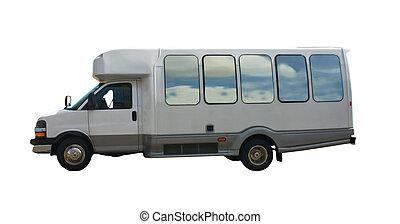 小さい, バス, 旅行