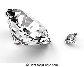 小さい, 大きい, ダイヤモンド