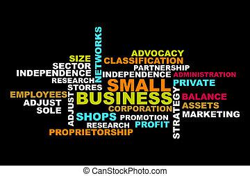 小さい, 概念, 単語, ビジネス
