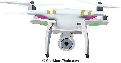小さい, 機械, 飛行, 無人機