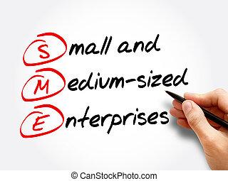 小さい, sme, -, 企業, medium-sized