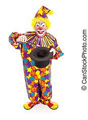 小丑, 魔術師, -, 充分的身体