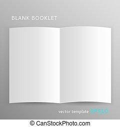 小冊子, ブランク