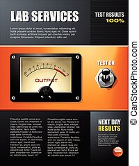 小册子, 科学实验室, 服务