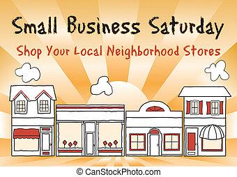 小型企業, 星期六