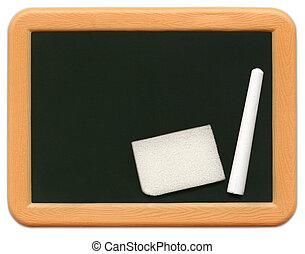 小型, child\\\'s, -, 黑板, o2