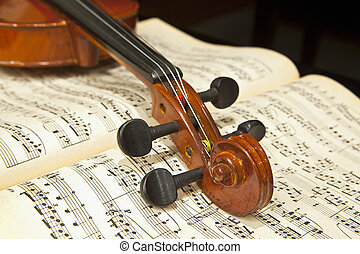 小提琴, 上, 音樂表