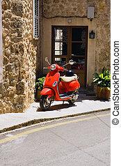 小摩托车, 红