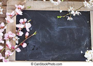 小枝, 花, さくらんぼ