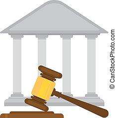 小槌, 裁判官, 裁判所, 保有物