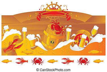 小樽, ビール, 海
