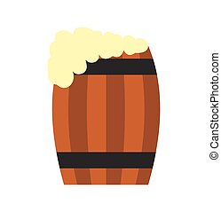 小樽, 平ら, ビール, アイコン