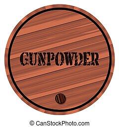 小樽, gunpowder, 隔離された