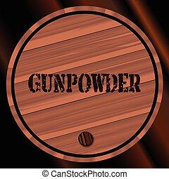 小樽, gunpowder