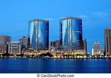 小溪, 迪拜, 建築學, 看法