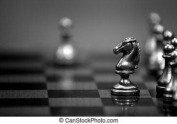 小片, 板 ゲーム, 作戦, チェス