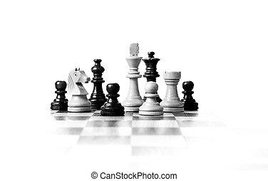 小片, 板, チェス