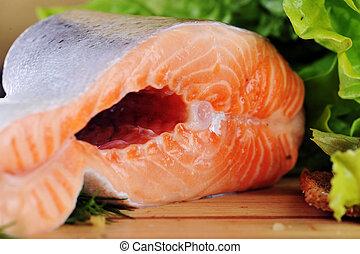 小片, 鮭