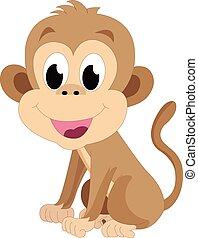 小猴子, 插圖