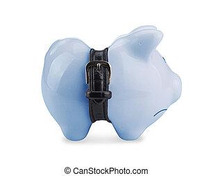 小豚, 銀行
