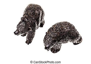 小雕像, 二, 熊, 崽