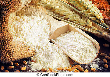 小麥, 麵粉, 有机