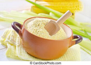 小麦粉, トウモロコシ